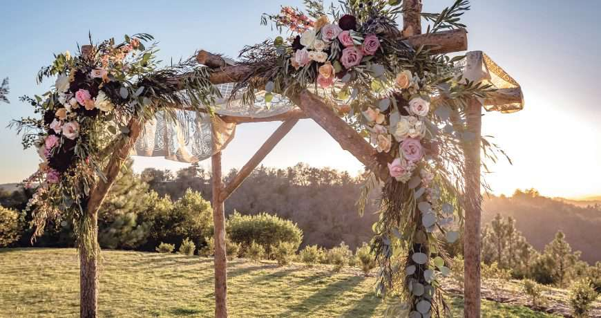 Chuppah for Jewish Wedding