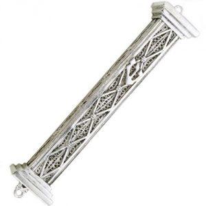 silver mezuzah