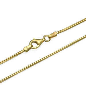 Franco Chain in 14k Yellow Gold 1.2mm 16-28