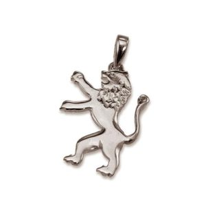 Lion of Judah 14k Gold Small Pendant - Baltinester Jewelry