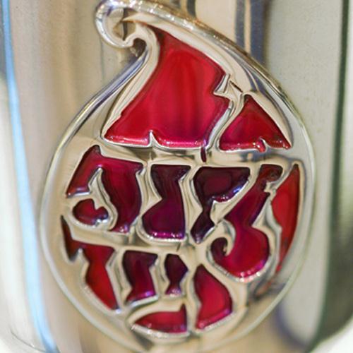 Silver Enamel Yalda Tova Kiddush Cup 2 - Baltinester Jewelry
