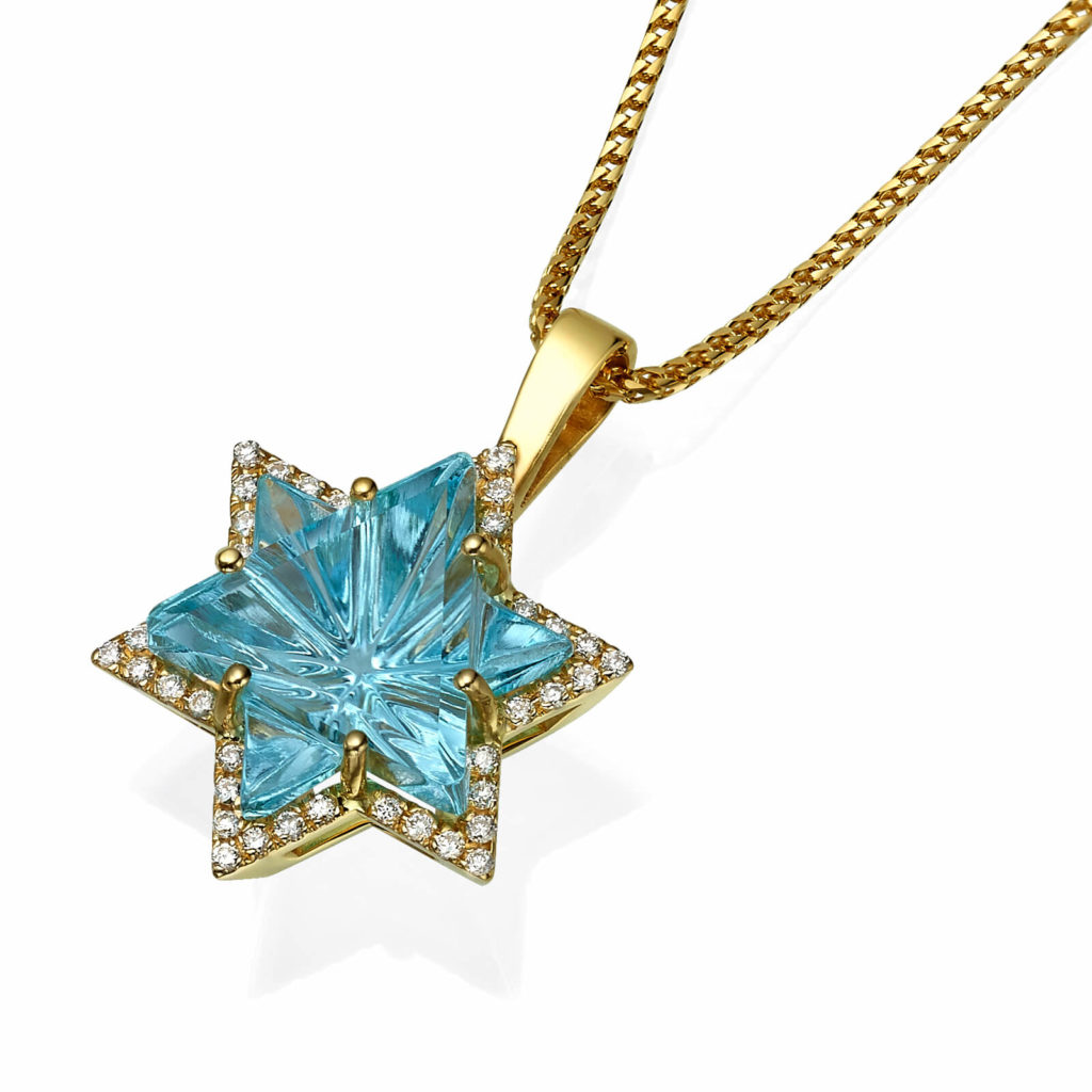 Star of David Eilat Stone | Baltinester Jewelry LTD