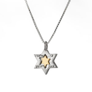 Spinning Star of David Protection Pendant - Baltinester Jewelry