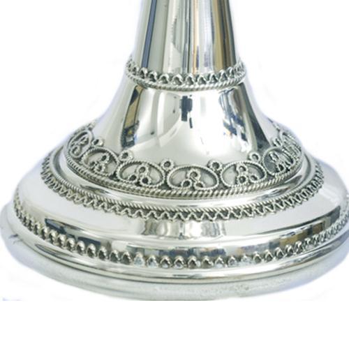 Silver Yemenite Drop Kiddush Cup 4 - Baltinester Jewelry