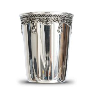 Silver Filigree Kiddush Cup - Baltinester Jewelry