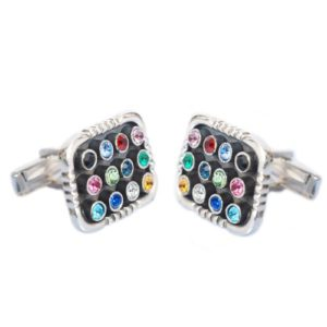 Silver Hoshen Cufflinks - Baltinester Jewelry