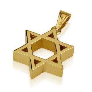 small weighty jewish star