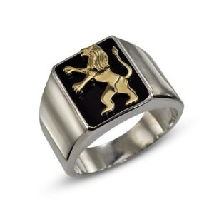Lion of Judah Silver Signature Ring - Baltinester Jewelry