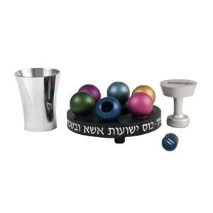 Black Havdalah Set - Baltinester Jewelry
