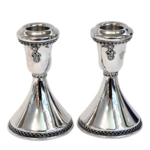 Mini Sterling Silver Candlesticks - Baltinester Jewelry