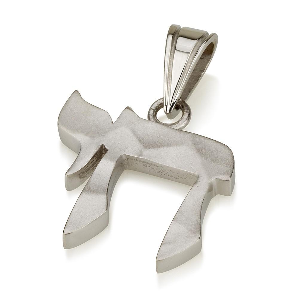 White Gold 14k Hai Pendant - Baltinester Jewelry