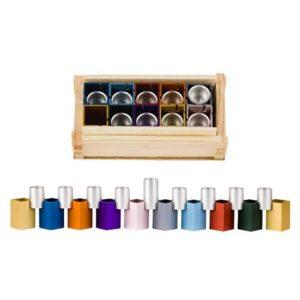 Multicolored Combination Menorah - Baltinester Jewelry