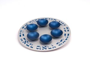 Seder Plate 1 Level - Baltinester Jewelry