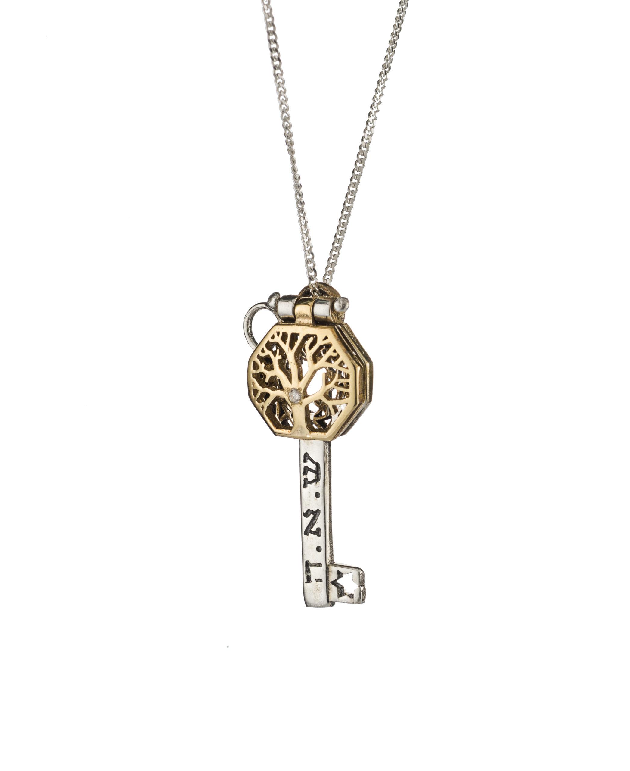 Tree of Life Health & Longevity Key Pendant - Baltinester Jewelry