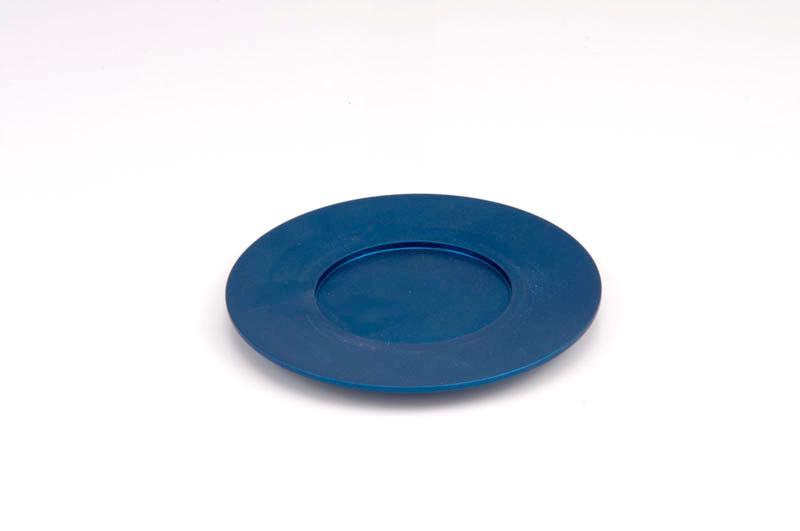 Single Kiddush Cup Plate - Blue - Baltinester Jewelry