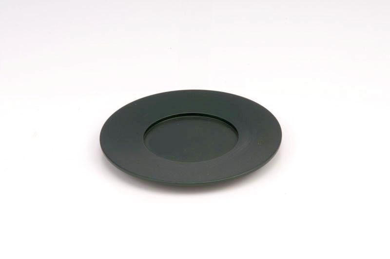 Single Kiddush Cup Plate - Green - Baltinester Jewelry