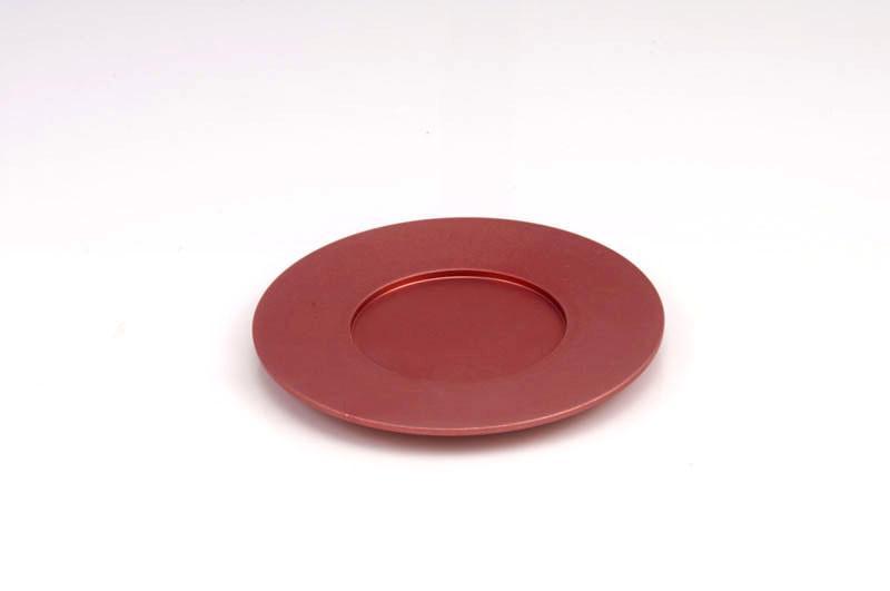 Single Kiddush Cup Plate - Pink - Baltinester Jewelry