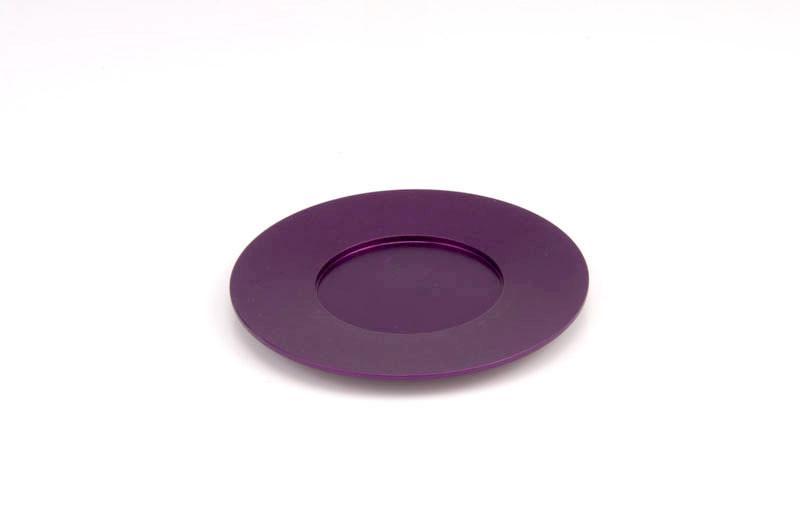 Single Kiddush Cup Plate - Purple - Baltinester Jewelry