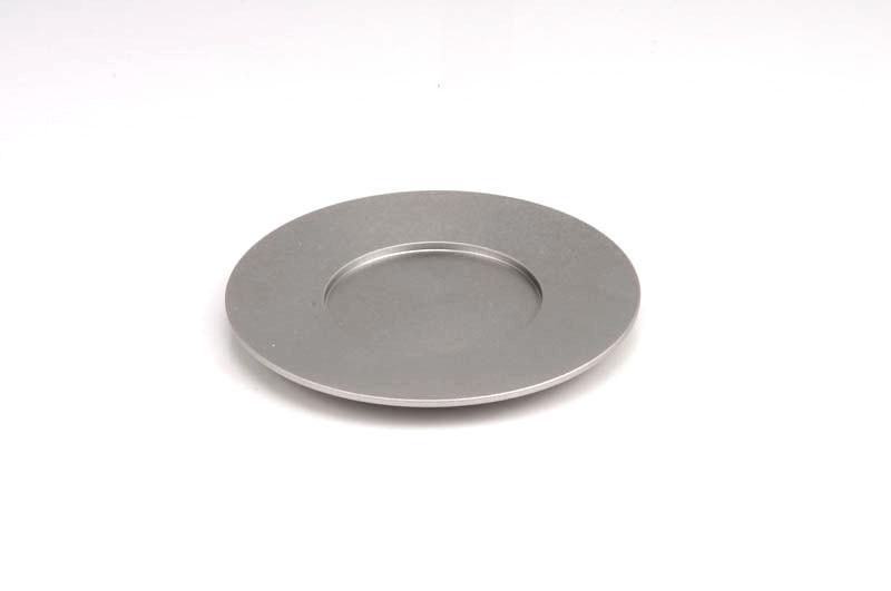 Single Kiddush Cup Plate - Silver - Baltinester Jewelry