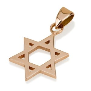Jewish Pendants & Hebrew Necklaces
