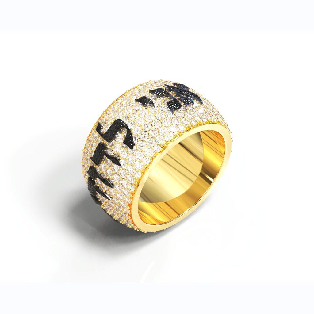 diamond ani ledodi ring