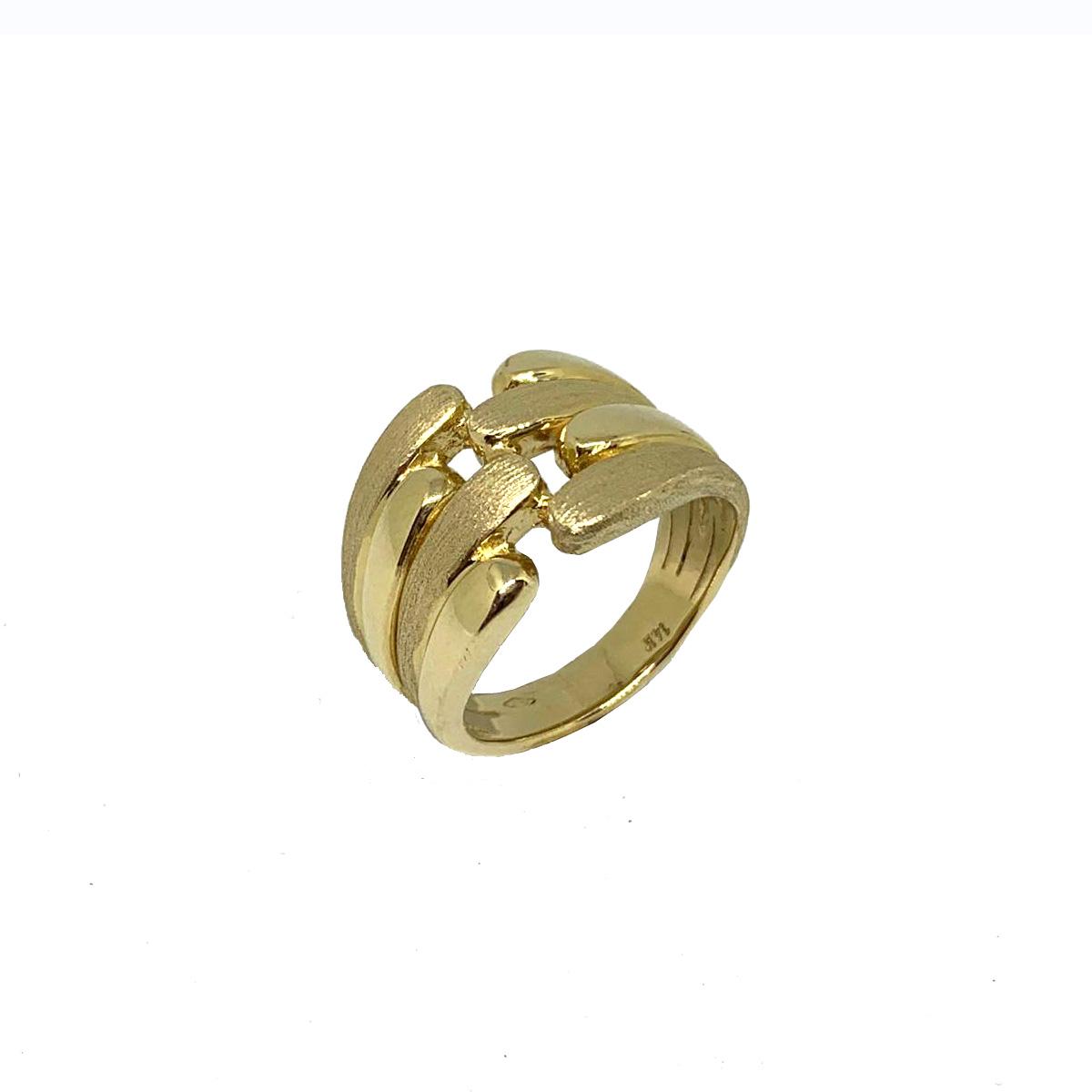 14k Gold Israeli Sabra Ring - Baltinester Jewelry