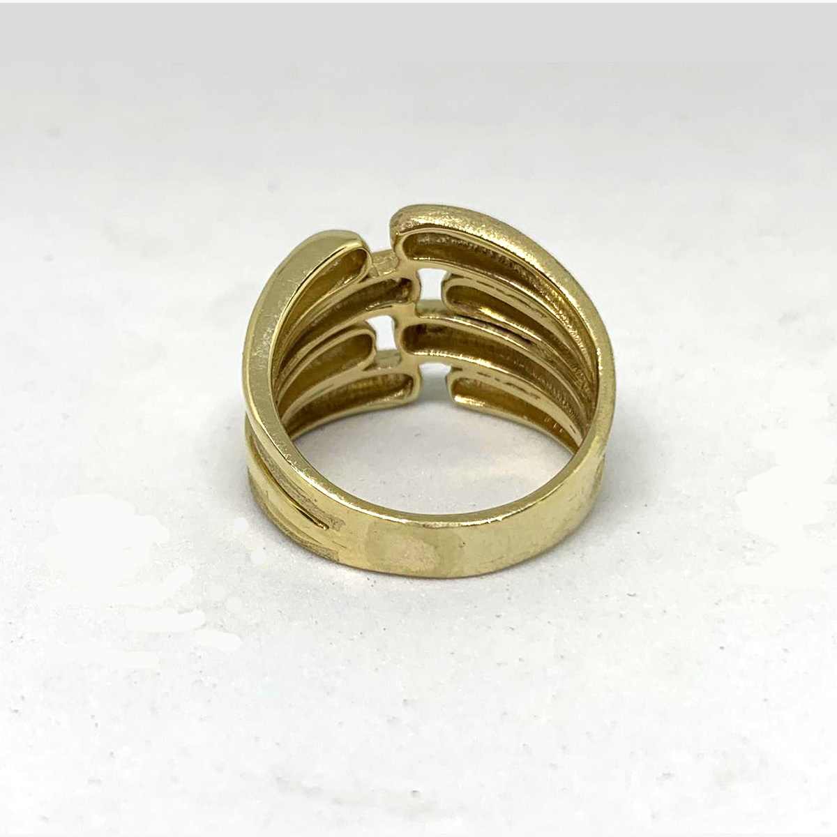 14k Gold Israeli Sabra Ring 4 - Baltinester Jewelry